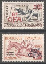 Reunion 1954,Sports,Sc 299-300,VF MNH** CV$120 (R-11)