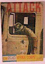 "Attack Racconti di Guerra  ""Afrika Corps "" di Karl Buger  n°2 1961"