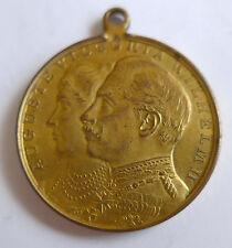 Medaille --Auf die Silberne Hochzeit Kaiser Wilhelm und Victoria 1906--