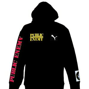Public Enemy - Target Official Licensed Pullover Hoodie By Puma
