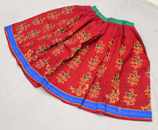 Ethnic Banjara Tribal Boho Embroidery Gypsy India Rabari Kuchi Belly Dance Skirt