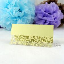 Platzkarten Tischkarte Blumen Herz Schmetterling Muscheln Taufe Namenskarte Deko
