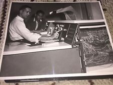 "1960's CORRY JAMESTOWN,PHOTO OF A NEW COMPUTER, CORRY,PA 10""x8 1/8"""