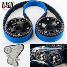 Timing Belt +Cam Gear Pulley For Honda B16A 99-00 Civic Si 94-97 Del Sol VTEC BK