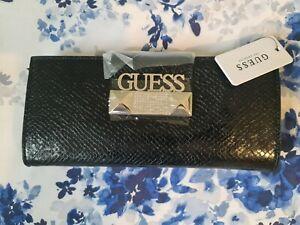 Guess Black Clutch Bag - BNWT