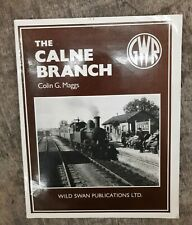 More details for the calne branch, colin g. maggs great western railway gwr book freepost