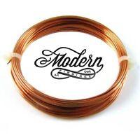 26 Ga Solid Bronze Soft Round Wire 1 Oz  90 Feet On Coil  Bronze wire