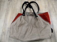 FURLA tolle große Handtasche beige orange  TOP ZC1217