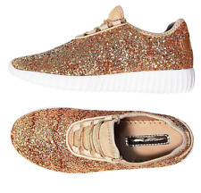 Link Remy18 Women&Kids Fashion Sneaker-Lightweight Glitter Quilted Lace Up Shoes