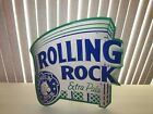 Rolling Rock Beer SIGN tin Extra Pale 2002 NICE
