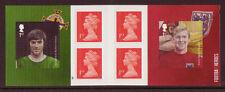 Echte Briefmarken aus Europa mit Fußball-Motiv