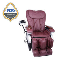 Useful Full Body Shiatsu Massage Chair Recliner w/Back Roller & Heat Stretched