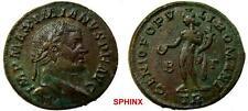 310RK17) MAXIMIANUS. 286-305 AD. Æ Follis (26 mm, 8.02 gm). Treveri mint. VF+