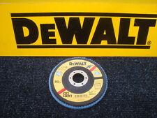 DEWALT DT3257 115MM INOX ANGLE GRINDER SANDING FLAP DISC 80GRIT