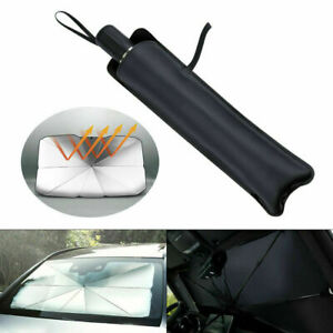 Windshield Sun Shade Universal Car Cover UV Sunshade Front Window Mount Umbrella