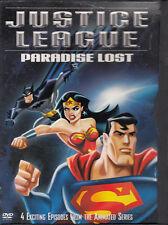 Justice League - Paradise Lost (DVD) Batman - Superman-Wonder Woman - 4 Episodes