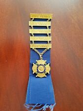 Vintage Putnam Phalanx Service Medal Hartford Ct,Service 25 years,made by White.