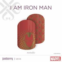 Authentic Jamberry Marvel and Wonder Woman Wraps Full Sheet