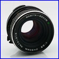 MAMIYA-SEKOR 80mm f2.8 medium format 6x6 lens obiettivo camera manual