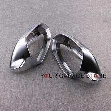 Paar Außenspiegel Spiegelkappen Aluminium L & R für Audi A6 C7 S6 4G 10-15