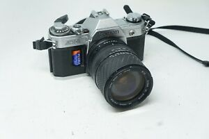 Canon AT-1 SLR 35mm film camera with 28-105mm Sigma lens Spares
