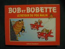 Bob et Bobette Le Retour du pou malin Publicitaire Omega Pharma Vandersteen