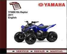 Yamaha YFM90 YFM 90 RA Raptor 2011 Service Repair Workshop Manual