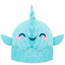 Narwhal Party Centerpieces, 3 Count