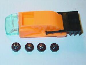 Hot Wheels Redline HEAVYWEIGHTS GARBAGE TRUCK BED KIT w/GLASS & WHEELS -NEW!
