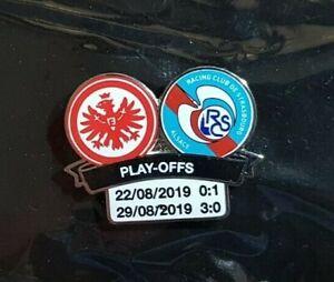 Eintracht Frankfurt SGE Pin Euro League 2019 Straßburg - Maße 32x25mm