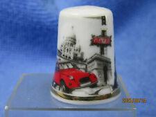 """dé à coudre de collection porcelaine"""" Paris """"/thimbles/ fingerhut"""