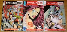Troubleman #1-3 VF/NM complete series - motown machineworks - image comics 1996