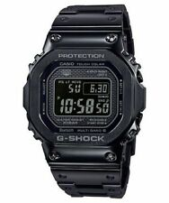 CASIO G-SHOCK Tough-Solar BLACK IP STEEL 35th Anniversary WATCH GMWB5000GD-1