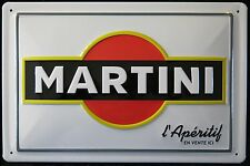MARTINI l´ APÈRITIV , BLECHSCHILD, COCKTAIL