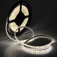 5M SMD 3528 600 LED Strip Warm White Light lamp IP65 Waterproof 12V Super Bright