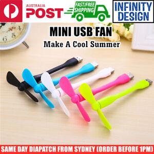 Mini USB Fan Cooling Cooler Portable Flexible Detachable for PowerBank/PC/Laptop