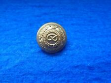 WWI,WWII NORTH STAFFORDSHIRE REGIMENT (P. OF WALES'S) 19MM OFFICERS BRASS BUTTON
