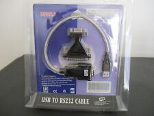 Netmate USB 2.0 To RS-232 adapter Cable (DB25 OR DB9)