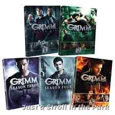 Grimm: David Giuntoli Complete TV Series Seasons 1 2 3 4 5 Box / DVD Set(s) NEW!