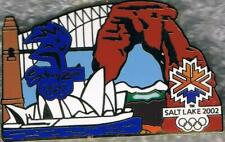 Rare 2002 Salt Lake City to 2000 Sydney Olympic Games Marks Bridge Pin