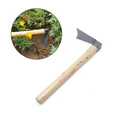 Hand Tool Hoe with Wooden handle Digger Tools Home Garden Farming Agriculture