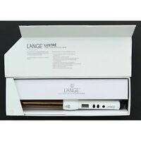 L'Ange Lustre Titanium Lightweight Durable Digital Hair Curling Iron Wand