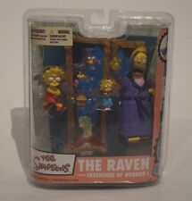 McFarlane Toys The Simpsons Series 2 The Raven Action Figure Set. Rare!!