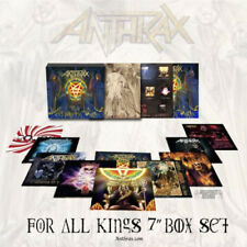 """Anthrax -For All Kings -Limited Edition Vinyl Box-Set 10 × Vinyl 7"""", 45 RPM -NEW"""
