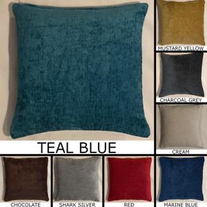 Premium Elite Chenille Cushion Cover Handmade Pillow Case Sofa Bed Home Decor
