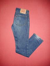Levi Strauss L591 Damas Azul Denim Jeans-cintura 28 pierna 33-Zip-Fly-B202