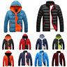 *Men Winter Ultralight Duck Down Jacket Thicken Hooded Puffer Warm Outwear Coat*