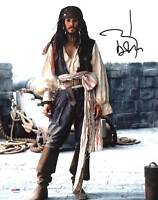 Johnny Depp Authentic Signed 11X14 Photo w/ Graded 10 Autograph! PSA/DNA #W04424
