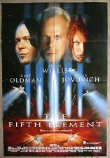 THE FIFTH ELEMENT 1997 Orig Australian movie poster Bruce Willis sci-fi classic