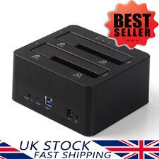 "ORICO USB 3.0 2Bay Hard Drive Docking Station Disk Clone 2.5""&3.5"" inch SATA lll"